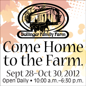 Dollinger Family Farmily Farm in Channahon - a suburb of Chicago.  Come out for fall and Halloween family fun